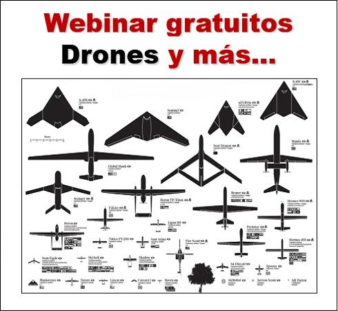 Webinar gratuitos Drones y más…